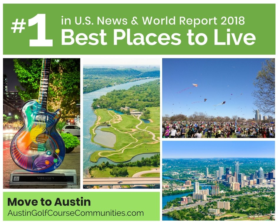 Austin ranks number 1 in 2018 Best Places to Live