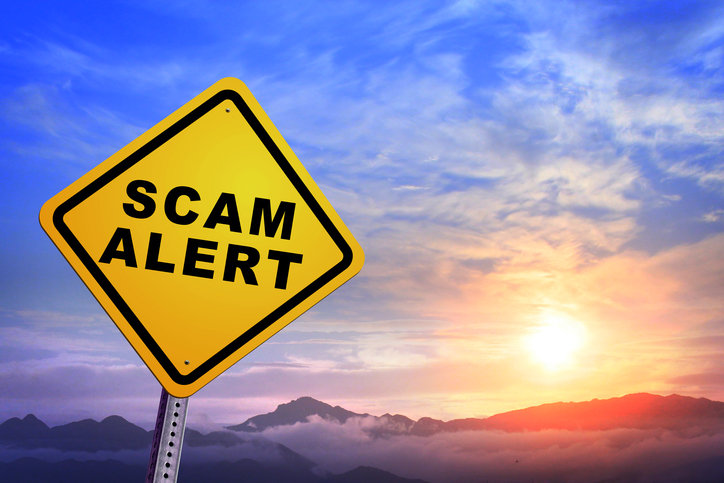 scam alert wire fraud real estate